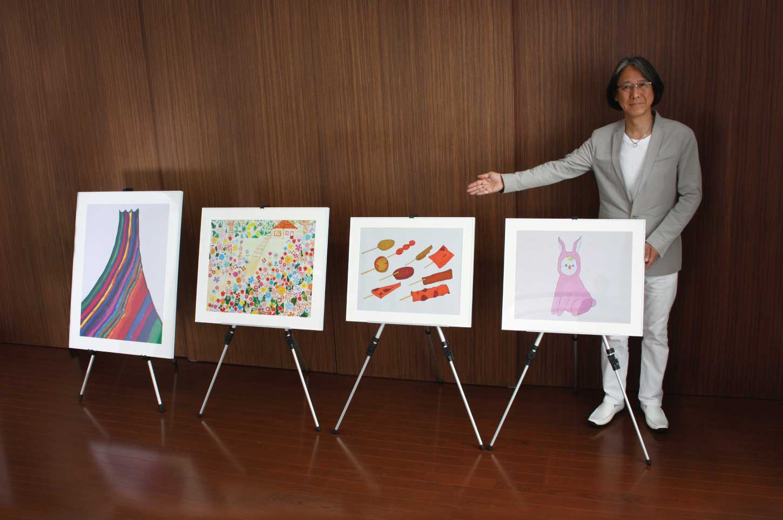 御社にアートコンシェルジュが伺い、対話型アート鑑賞法を実施いたします。