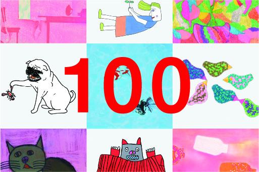 20名のアーティスト、合計100枚のアートから自由に選べます。